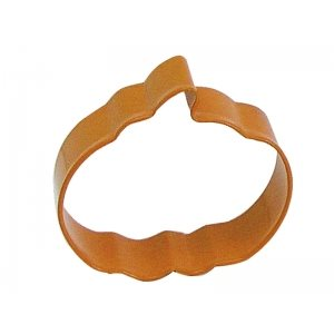 Pumpkin Cookie Cutter Poly Resin 3 Inch