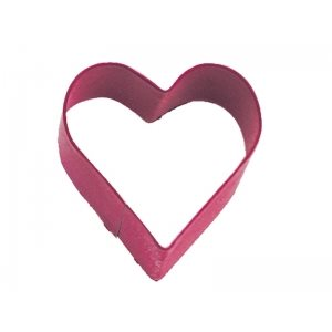 Mini Heart Cookie Cutter Poly Resin