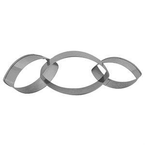 Oval Cutter Set