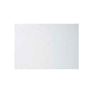 10 X 14 Inch Rectangle White Cake Board 1 / 2 Inch Thick
