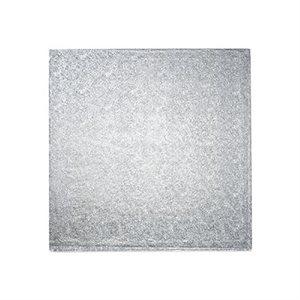18 X 18 Inch Square Silver Cake Board 1 / 2 Inch Thick
