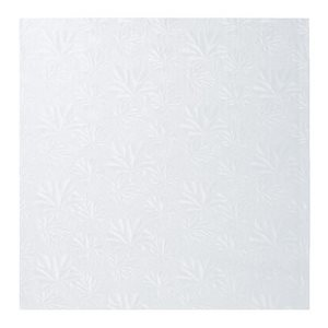 14 X 14 Inch Square White Cake Board 1 / 2 Inch Thick
