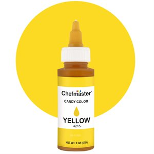 Yellow Liquid Candy Color - 2 ounce By Chefmaster