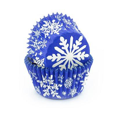 Snowflake Standard Cupcake Baking Cup Liner -Pack of  500