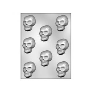 Skull Chocolate Candy Mold 2 1 / 8 Inch