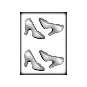 "3D High Heel Shoe Chocolate Candy Mold 4"""