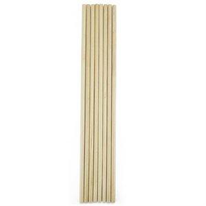Wooden Dowel Rods 11 Inch x 1 / 4 dia.
