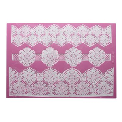 Damask Cake Lace Mat By Claire Bowman