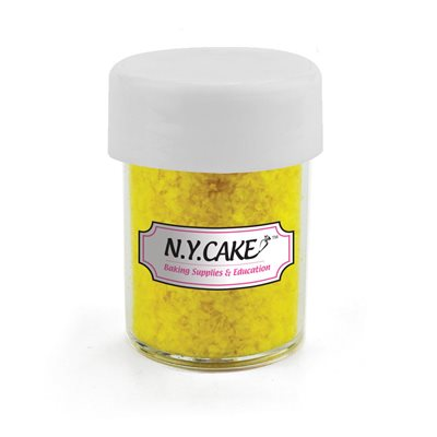 Yellow Edible Glitter 1 / 4 Ounce