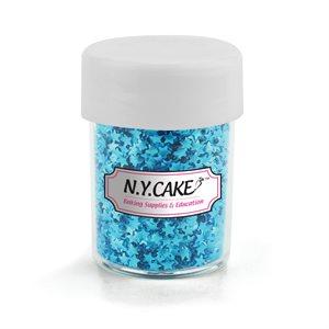 Edible Glitter Blue Stars  - 4.5 Grams
