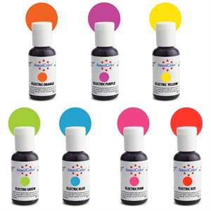 Electric Color Kit 7 ct By Americolor