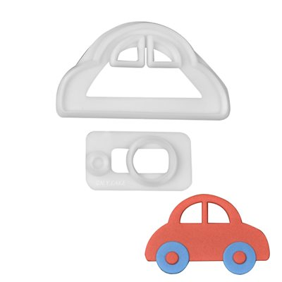 Cute Car Cutter Set By FMM