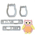 Mommy & Baby Owl Cutter Set By FMM