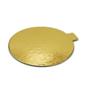 4 Inch Gold Mini Dessert Cake Board