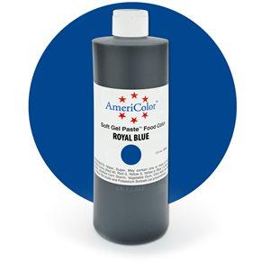 Royal Blue Gel Paste 13.5  ounces By Americolor