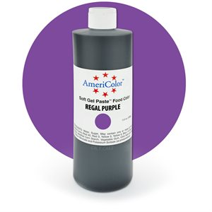 Regal Purple Gel Paste 13.5  ounces By Americolor