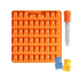 Bear Jellyflex Mold w /  Droper