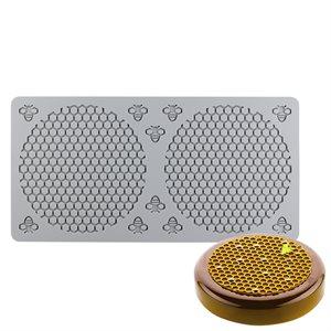 Honeycomb & Bee Fondant Impression Mat