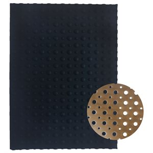 Polka Dot Silicone Baking-Decorating Impression Mat