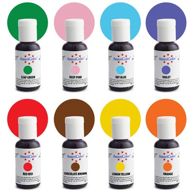 Junior Color Kit 8 ct By Americolor