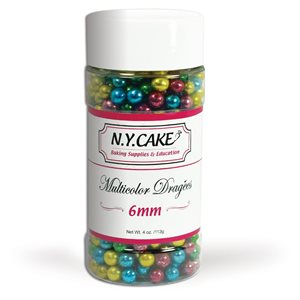Multicolor Dragees 6 mm Size