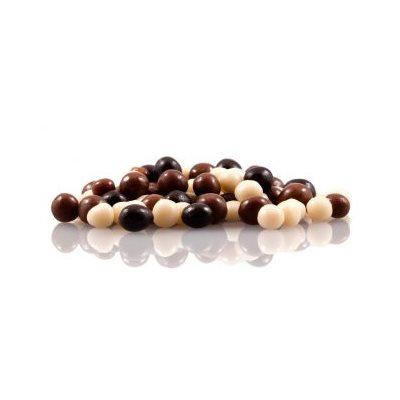 Dark, Milk & White Chocolate Pearls 4mm