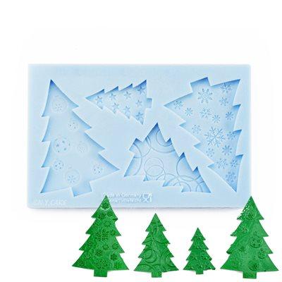 Christmas Trees Silicone Mold