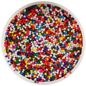 Rainbow Multicolor Nonpareils Sprinkles