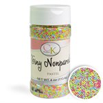 Tiny Easter Pastel Nonpareils 3.8 Ounces