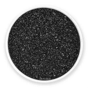 Black Natural Sanding Sugar 8 Ounces