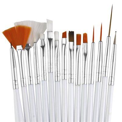 Fine Tip Brush Set of 15