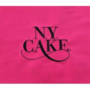 Pink Apron with NY Cake Emb. Logo