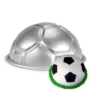 8 Inch Hemisphere Soccer Ball Cake Pan