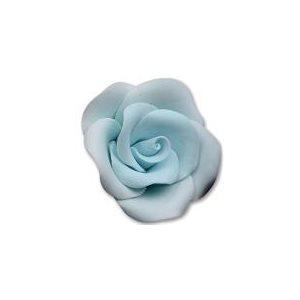 Large Blue Roses Sugar Flowers