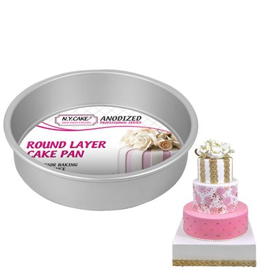 Round Cake Pan 8 by 2 Inch Deep