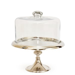 NY Cake Silver Classic Stand 10 1 / 2""