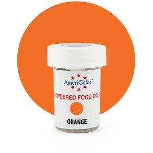 Orange Powdered Food Color 3 grams By Americolor