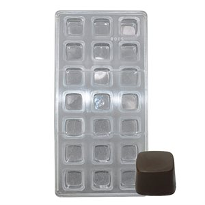 Square Polycarbonate Chocolate Mold