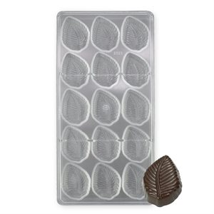 Leaves Polycarbonate Chocolate Mold