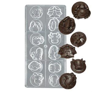 Horoscope Polycarbonate Chocolate Mold