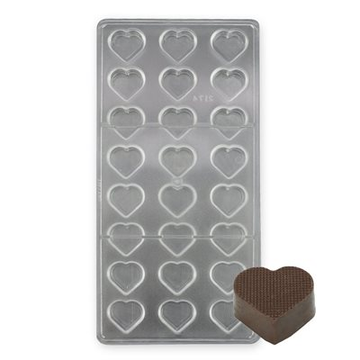 Small Heart Polycarbonate Chocolate Mold