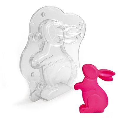 3D Rabbit Polycarbonate Chocolate Mold