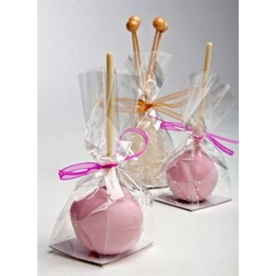 Cake Pop Bags 3 x 2 x 6 1 / 2  Pack of 100