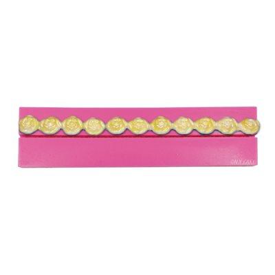 Rose Border Bead Mold 25 mm