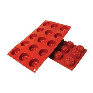 Rose Silicone Baking Mold .8 Ounce