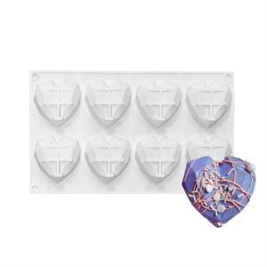 Diamond Heart Silicone Baking & Freezing Mold.