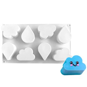 Rain Cloud Silicone Baking & Freezing Mold