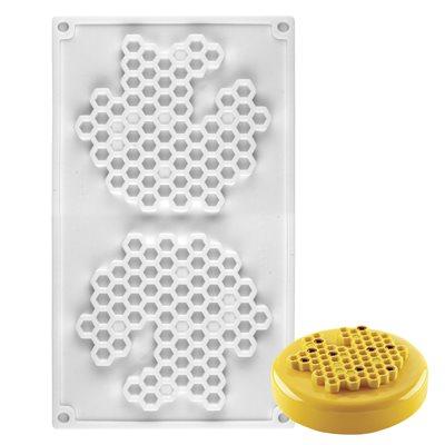Honeycomb Silicone Baking Mold 2 Cavity