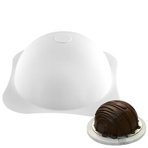 Round Dome Hemisphere Silicone Baking Mold 40 oz.