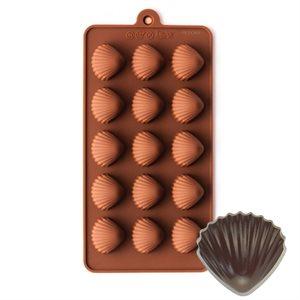 Seashell Silicone Chocolate Mold